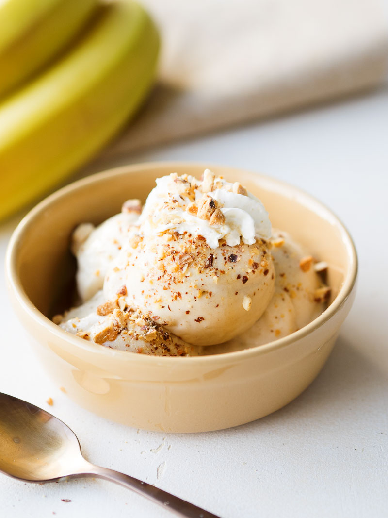 Easy Healthy Banana Ice Cream | The Worktop