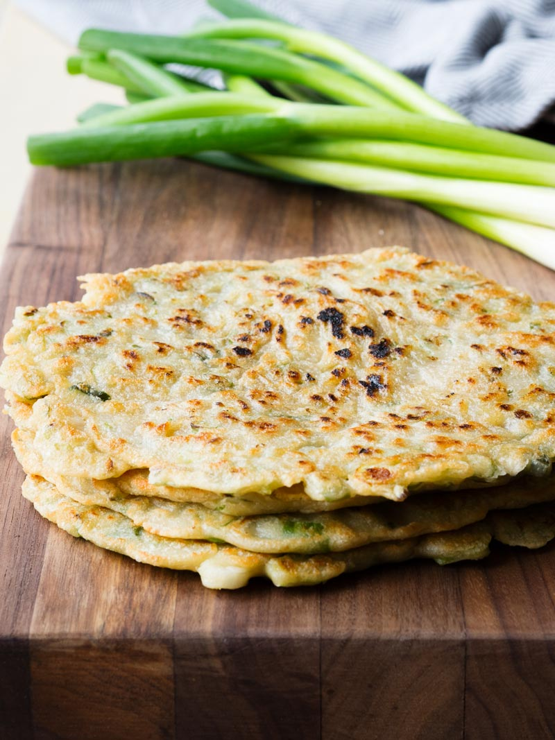 Easy Chinese Scallion Pancakes | The Worktop