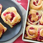 Christmas Breakfast Recipes - Cranberry Buns