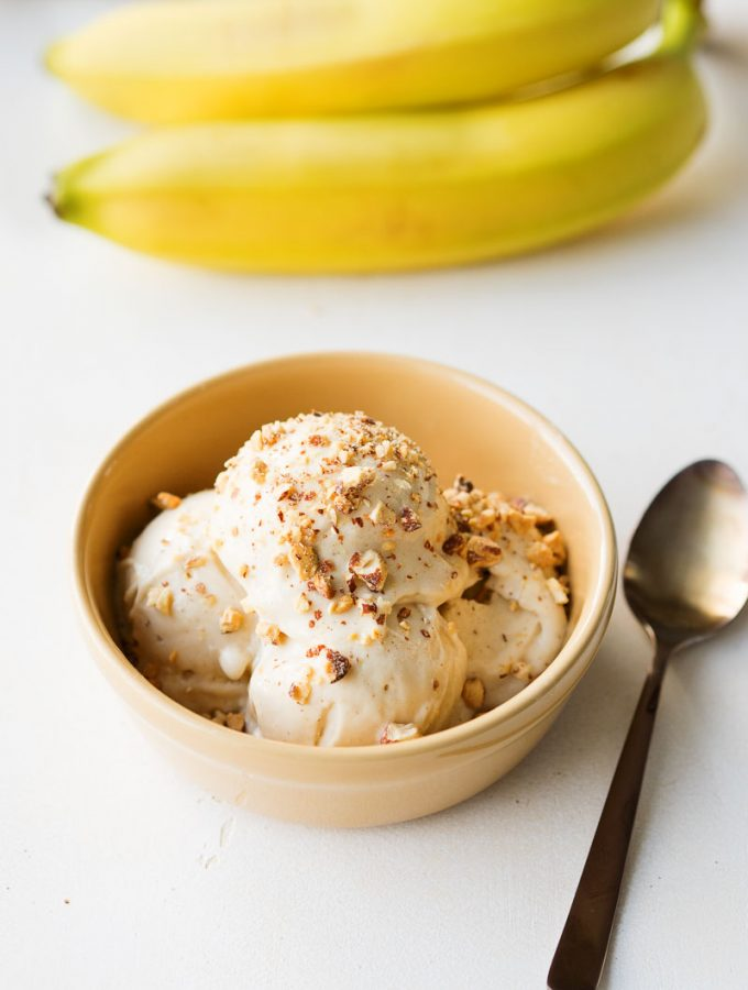 Easy Healthy Banana Ice Cream