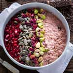 Blood Orange Bircher Muesli