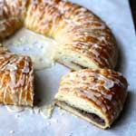 Christmas Breakfast Baked Goods Pecan Kringle