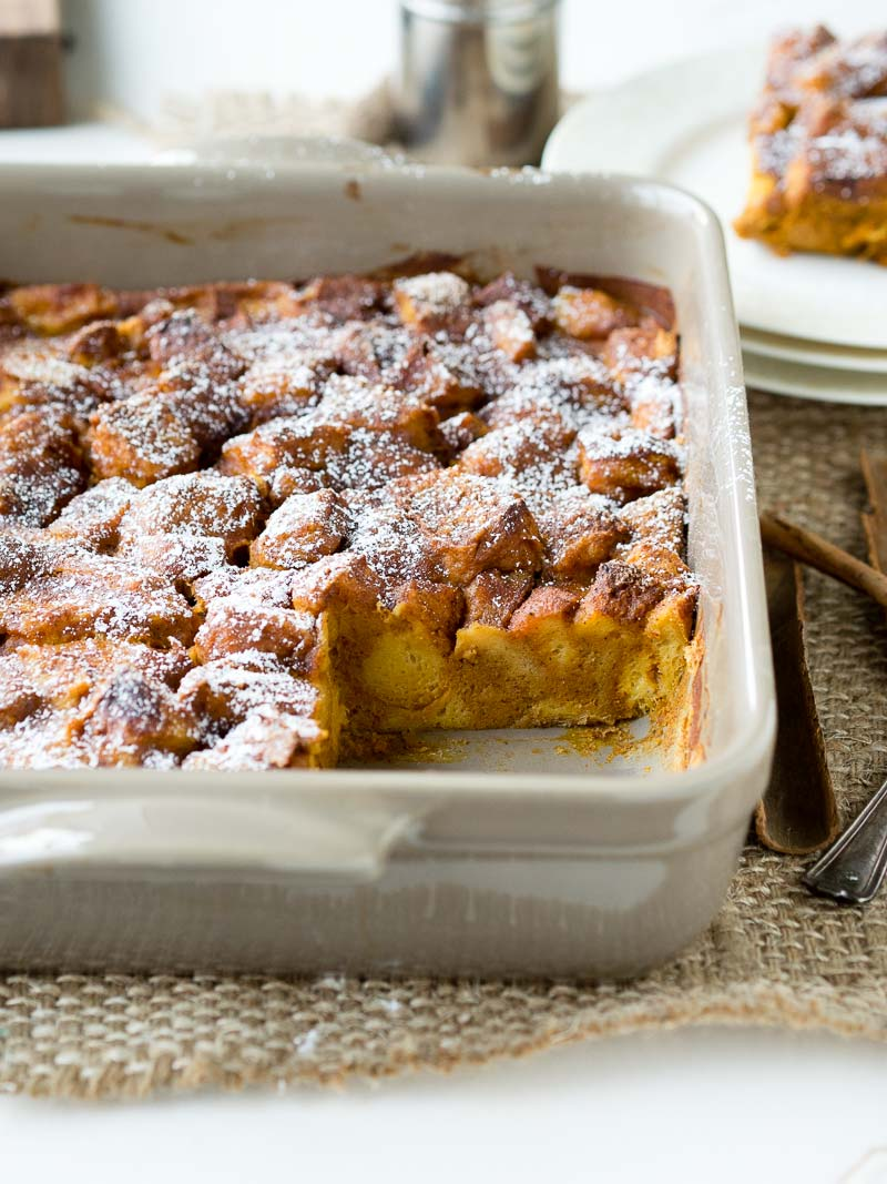 Pumpkin Breakfast Baked French Toast | The Worktop