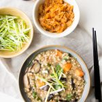 Vegan Congee Recipe with Brown Rice | The Worktop
