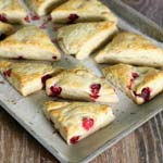 Christmas Breakfast Idea Cranberry Scones