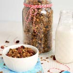Christmas Spice Cookie Granola
