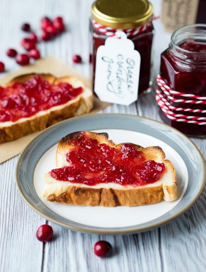 Cranberry Orange Jam | The Worktop