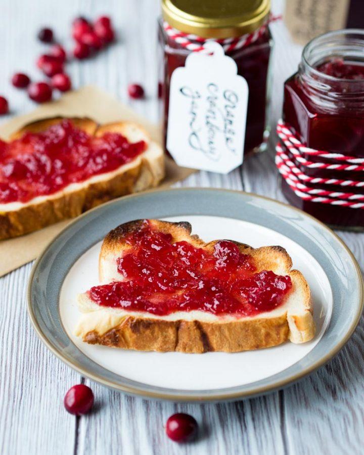 Cranberry Orange Jam | The Worktop