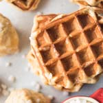 Waffle for Christmas Breakfast Recipe