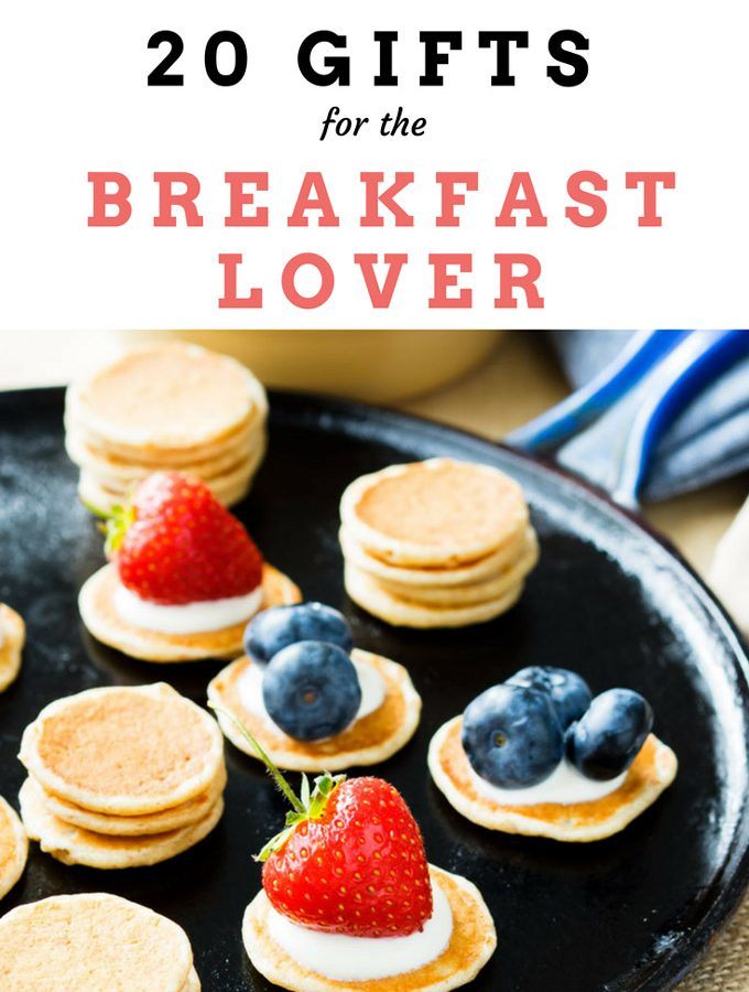 20 Gift Ideas For Breakfast Lovers