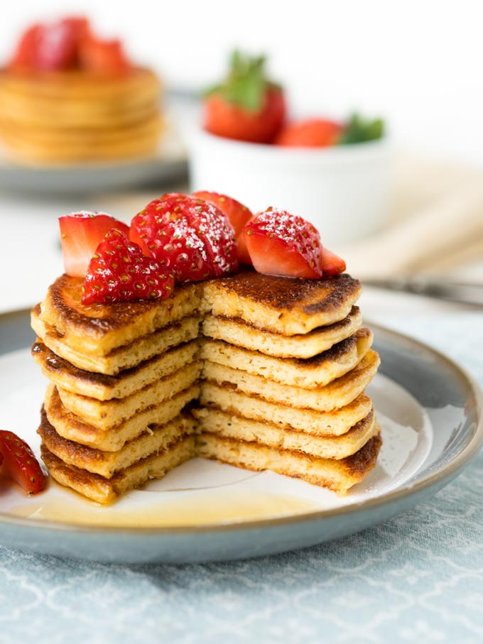 Cottage Cheese Pancakes - Healthy Weekday Breakfast Recipes  | The Worktop