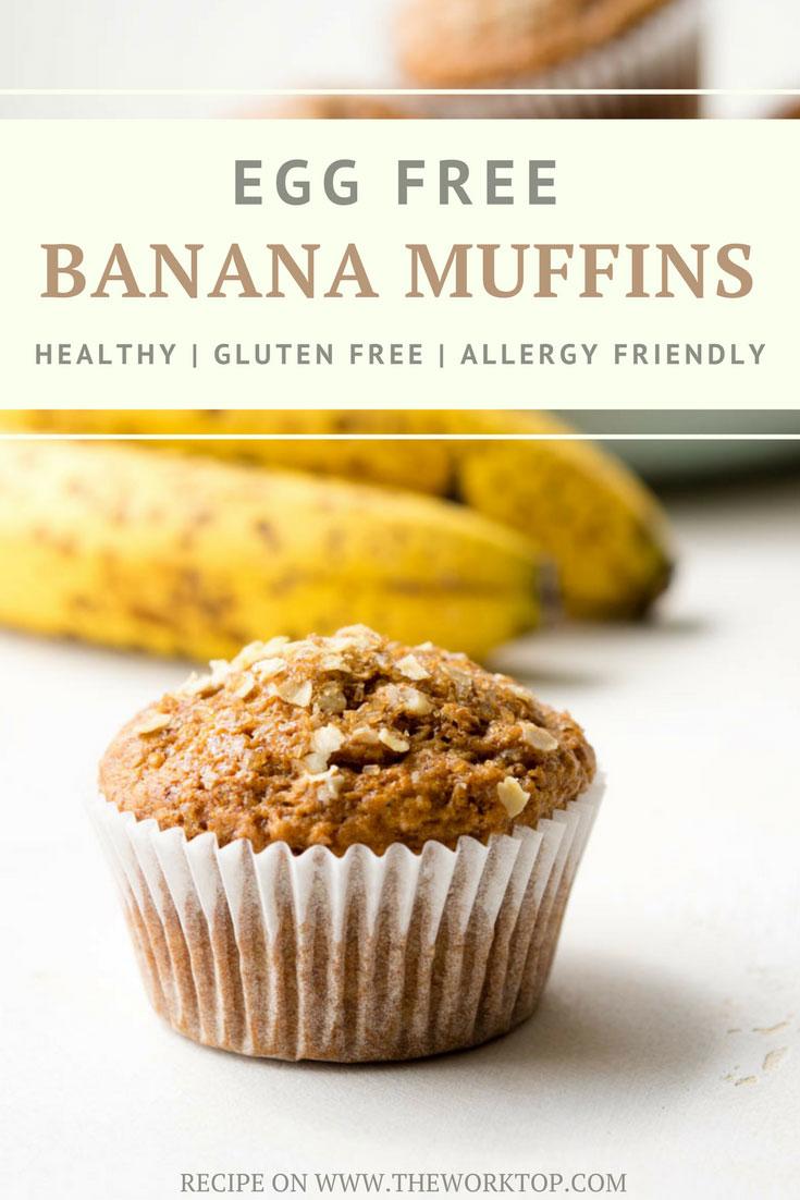 Egg Free Banana Muffins | The Worktop