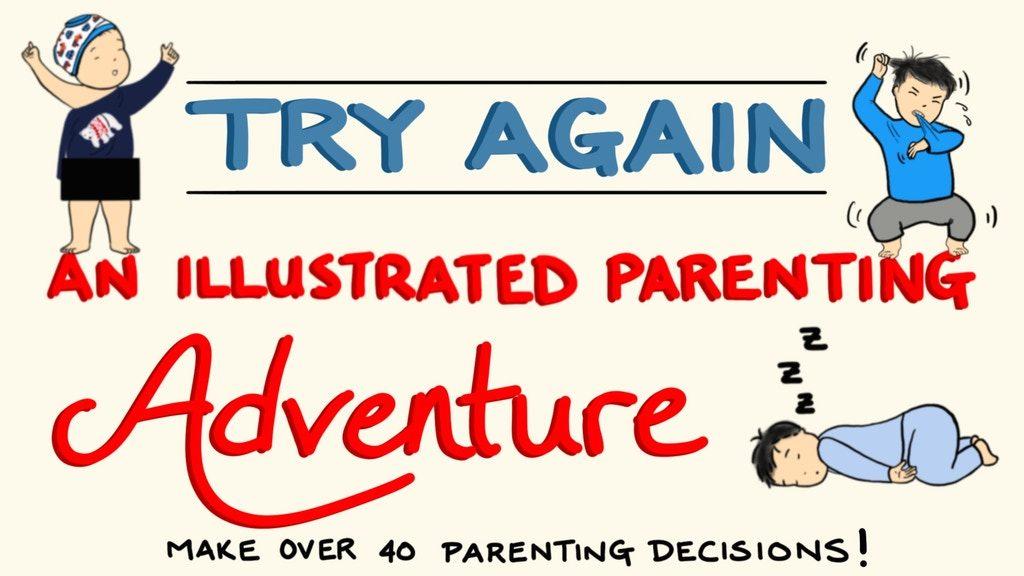 Try Again Parenting Book on Kickstarter