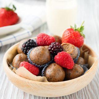 Vegan Almond Butter Energy Balls | The Worktop
