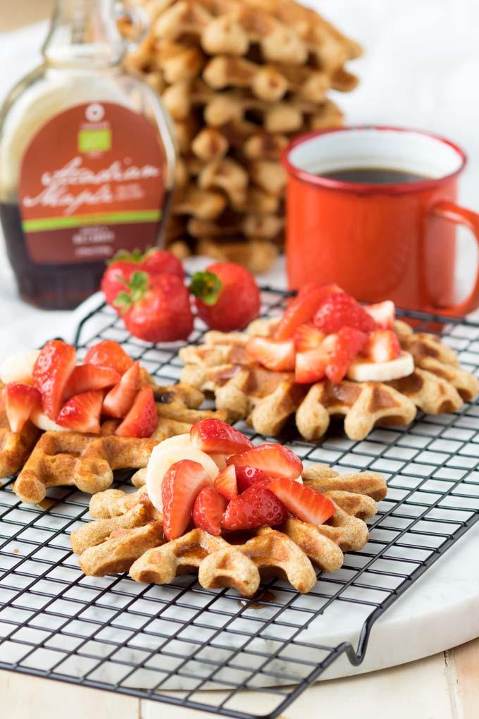 Easy Homemade Waffles Recipe   The Worktop