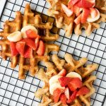 Homemade Waffles | Easy Buttermilk Waffles | The Worktop