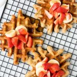 Homemade Waffles Recipe - Whole Wheat Buttermilk Waffles | The Worktop