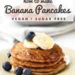 How to Make Vegan Banana Pancakes | The Worktop