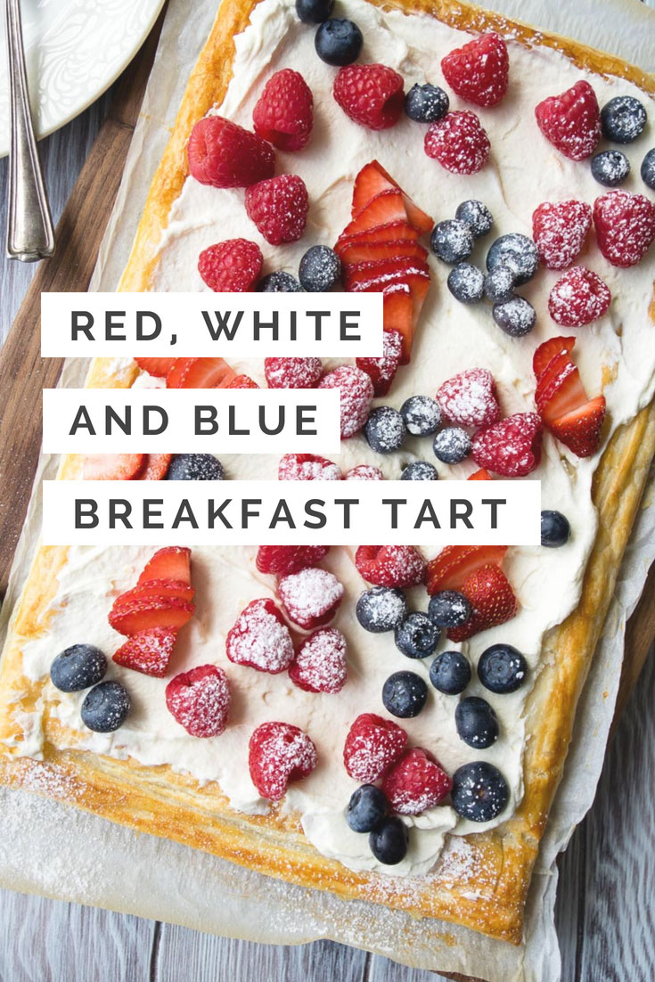 Red White Blue Breakfast Recipe | The Worktop