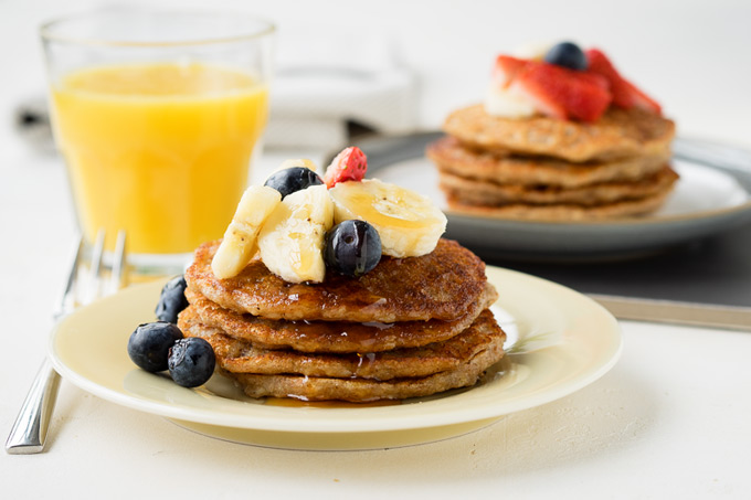 Vegan Banana Pancakes Recipe | The Worktop