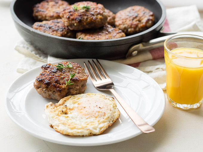 Breakfast Sausage Patties Recipe | The Worktop
