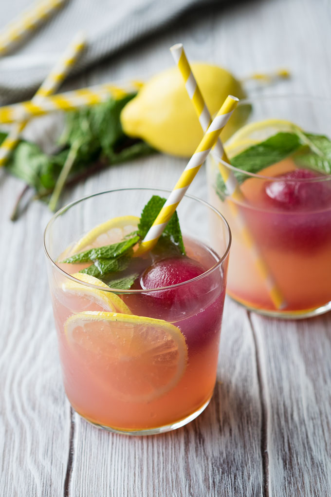 Children Mocktails - Blueberry Lemonade | The Worktop
