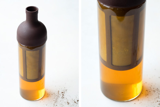 Cold Brew Coffee Recipe - Initial Color | The Worktop
