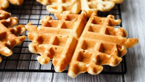 Eggless Waffles | The Worktop