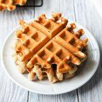 Eggless Waffle Recipe | The Worktop