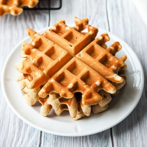 Eggless Waffle Recipe | The Worktop