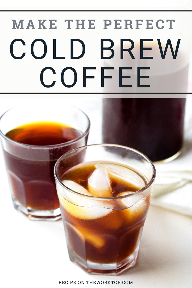 Make Cold Brew Coffee at Home | The Worktop