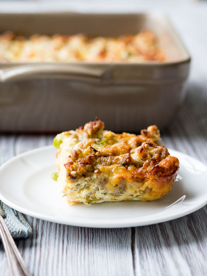 Best Sausage Egg Breakfast Casserole - Easy Make Ahead Recipe