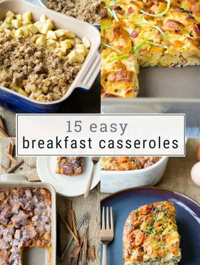 15 Easy Breakfast Casseroles