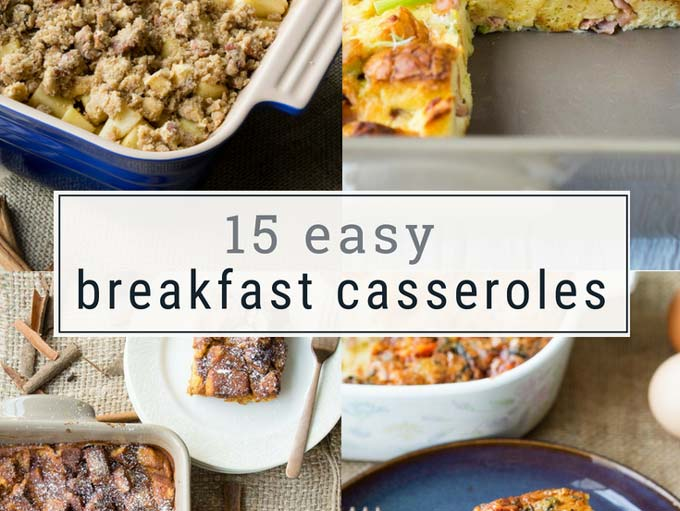 15 Easy Breakfast Casserole Recipes - Roundup | The Worktop
