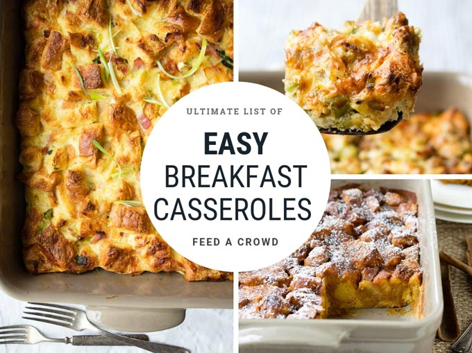 Easy Breakfast Casseroles Recipes and Ideas | The Worktop
