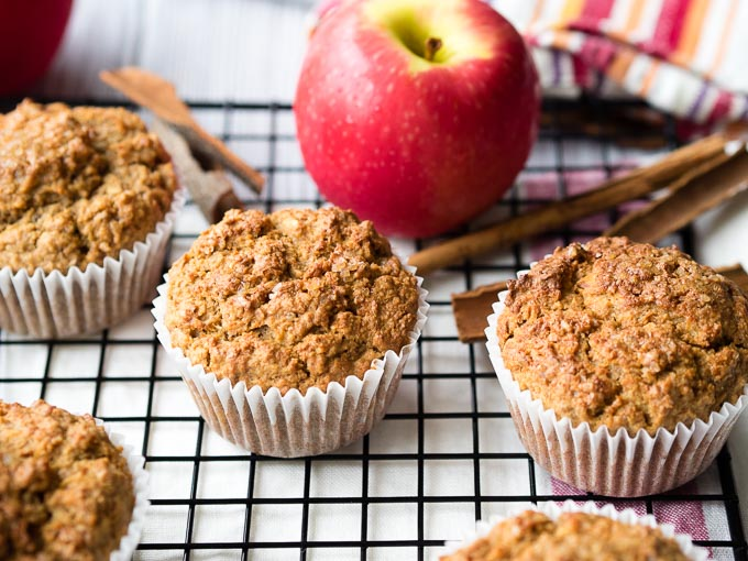 Easy Breakfast Muffin - Apple Cinnamon   The Worktop