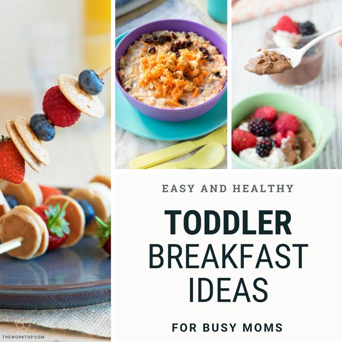 Healthy Breakfast Ideas for Toddlers - Easy Recipes | The Worktop
