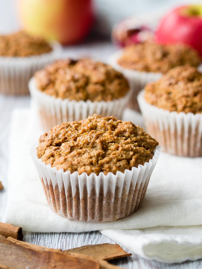 Healthy Apple Cinnamon Muffins | The Worktop