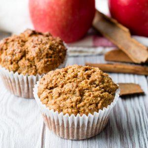 Healthy Kids Muffin - Apple Cinnamon   The Worktop