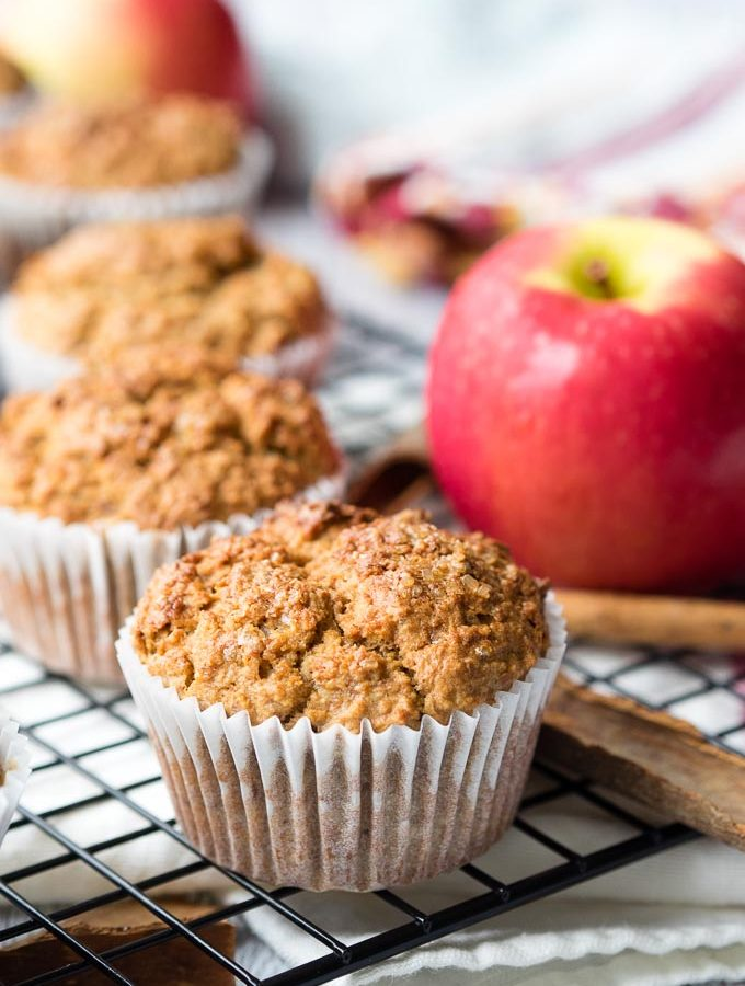 Healthy Muffins for Breakfast - Apple | The Worktop