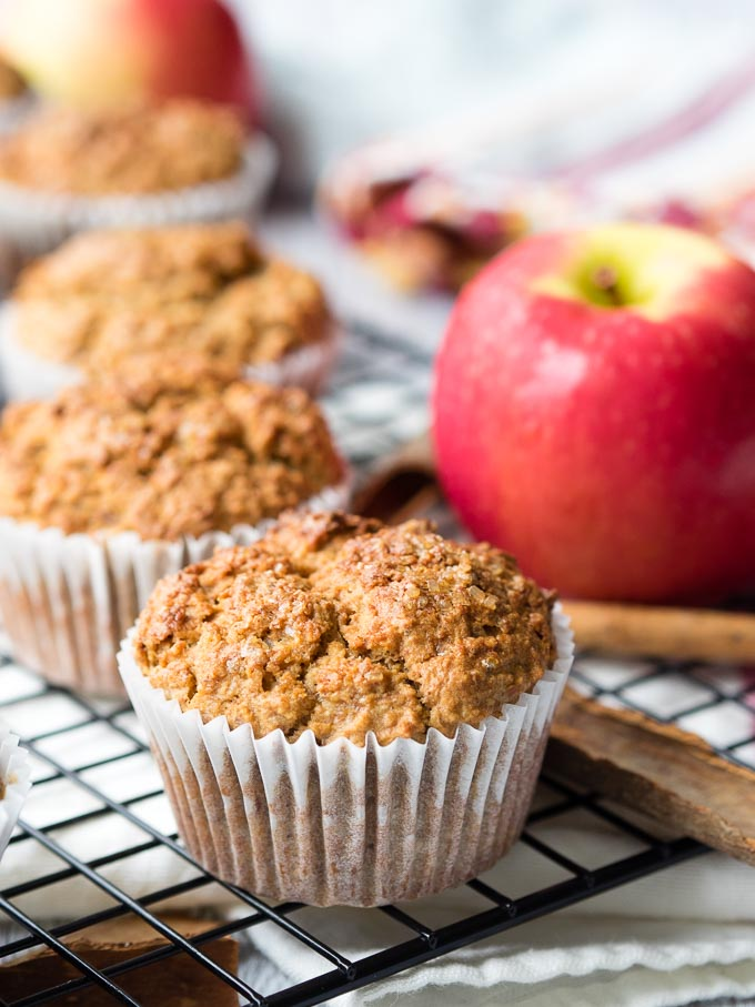 Healthy Apple Muffins - Weekday Breakfast Ideas | The Worktop