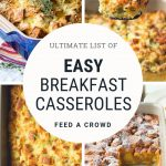 List of Easy Breakfast Casseroles | The Worktop