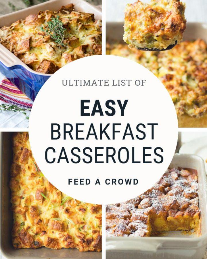 List of Easy Breakfast Casseroles   The Worktop
