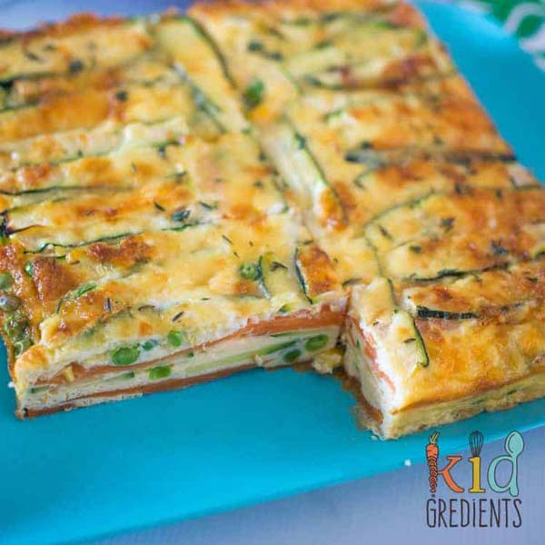 Sweet Potato and Zucchini Strata | Easy Breakfast Casserole Recipes | The Worktop