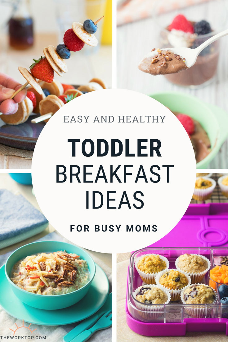 Toddler Breakfast Ideas - 20+ Easy Healthy Recipes | The Worktop