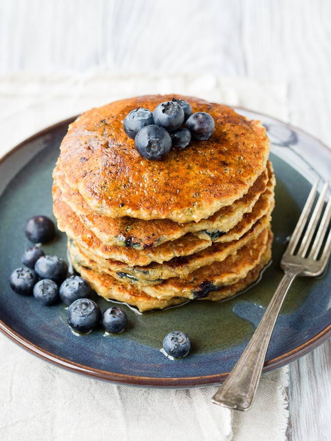 Vegan Oatmeal Pancake Recipe | The Worktop