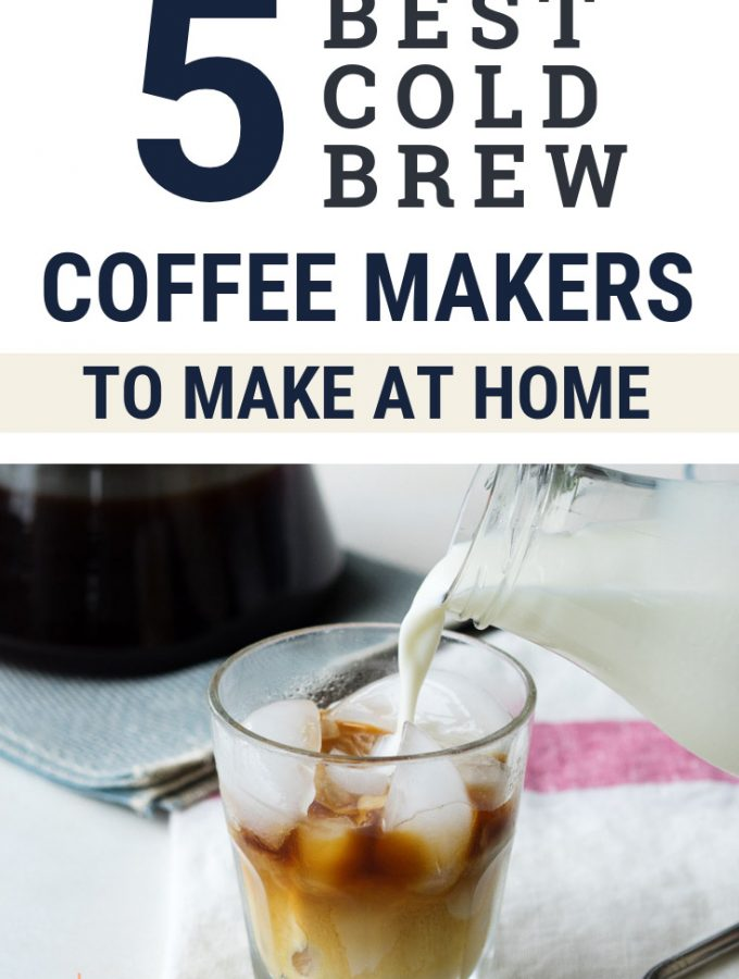 5 Best Cold Brew Coffee Makers | The Worktop