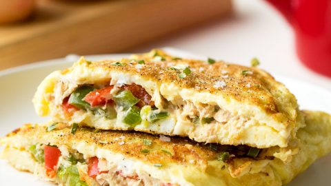 Breakfast Tuna Omelette Recipe | The Worktop