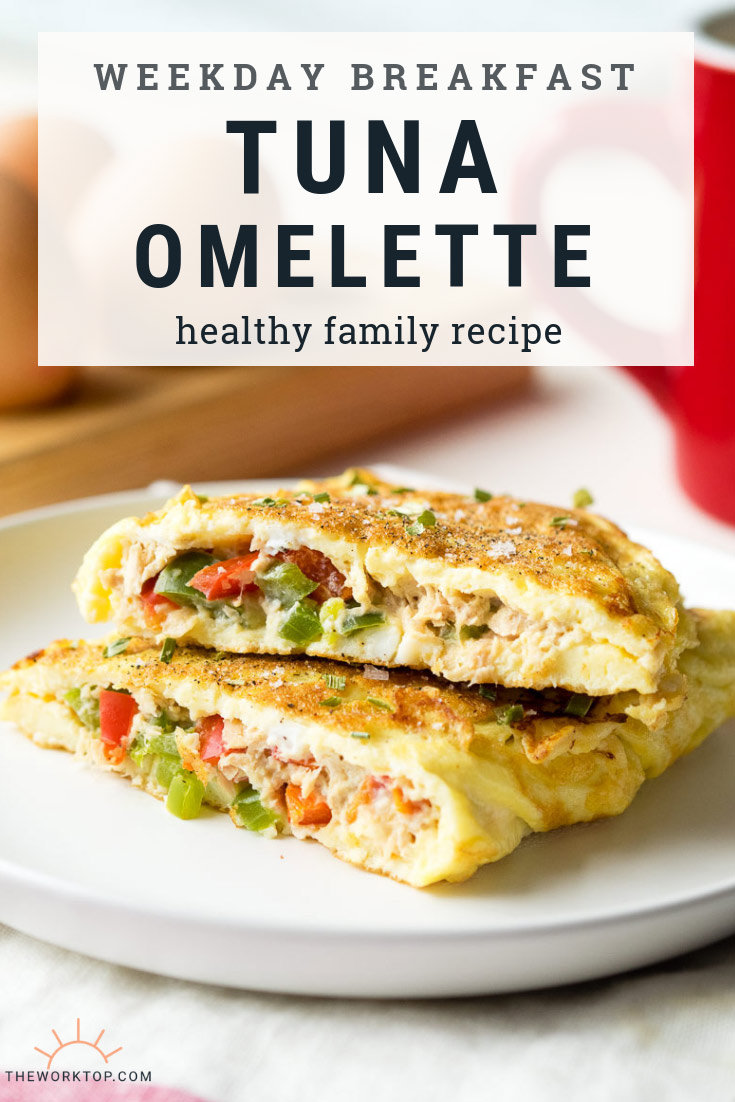 Tuna Omelette - Low Carb Keto Breakfast Recipe | The Worktop