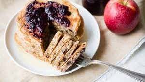 Easy Apple Pancakes Recipe - Healthy | The Worktop